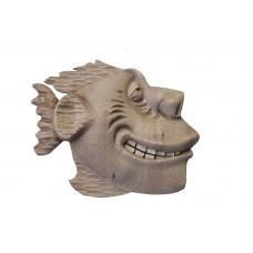 """Деревянное интерьерное панно """"Рыба №1"""" 37х30 см."""
