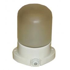 Стеклянный светильник для бани