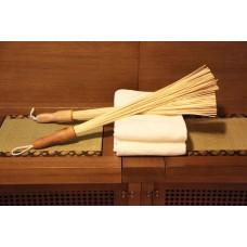 Веник из бамбуковых палочек